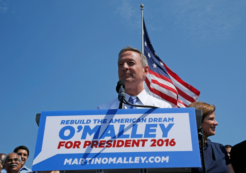 Martin O'Malley Phoned Hillary Clinton Ahead of His PresidentialLaunch