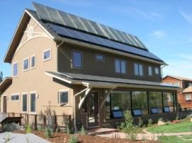 solar house Boulder